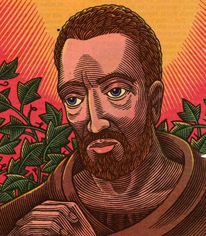 Augustine as drawn by TIME Magazine