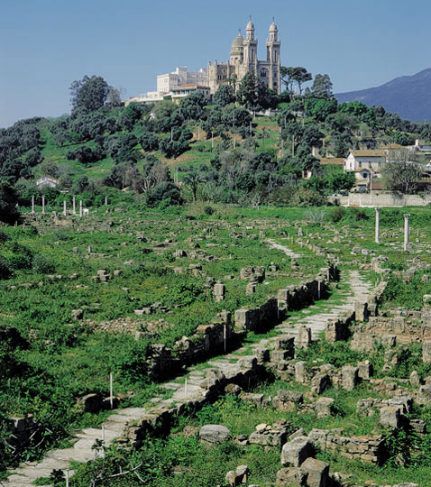 From Hippo's ruins to the present hilltop basilica at Annaba