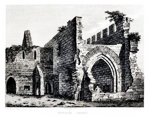 The Augustinian Abbey at Murrisk, sketched in 1872