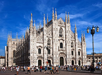 "Milan's Duomo ( Cathedral), ""lacework in stone"""