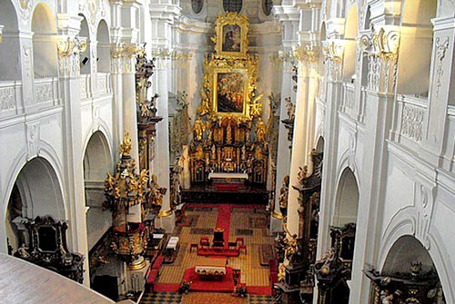 Saint Thomas' Church is the only church in Prague that has remained Catholic ever since it was first built.