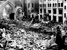 London bombsite, 10 October 1940