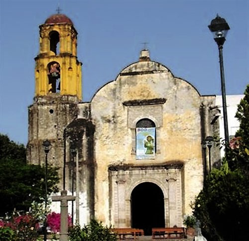 Ocuituco, Mexico: in 1533 the first Augustinian foundation in the New World