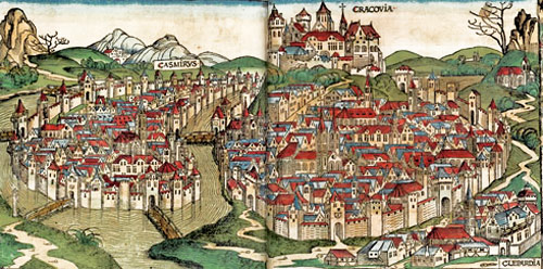 At left: Casmirvs (Kazimierz) in a drawing of 1493.