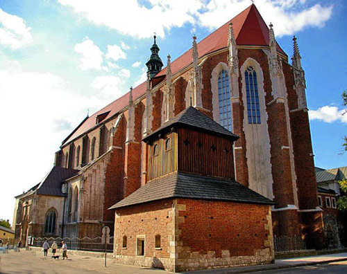 The Augustinian Church of St Catherine and St Margaret, Kazimierz, Krakow.