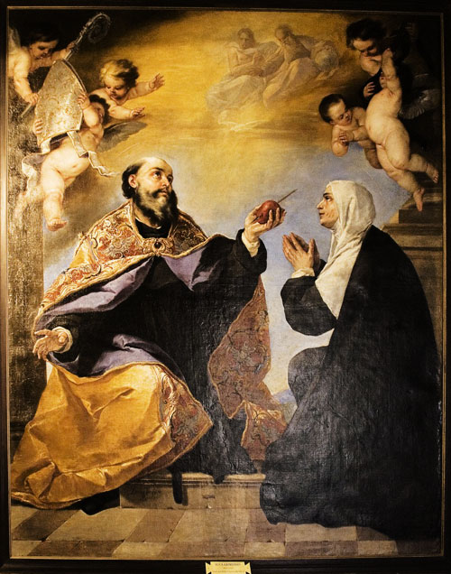 Augustine and Monica, son and mother saints