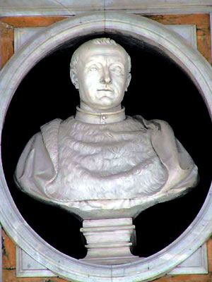 Bust of William Estouteville, France