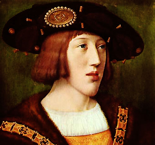King Charles V of Spain in his early years