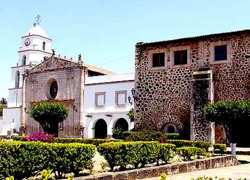 Alonso de la Vera Cruz founded this Augustinian convent at Tiripetío, Mexico