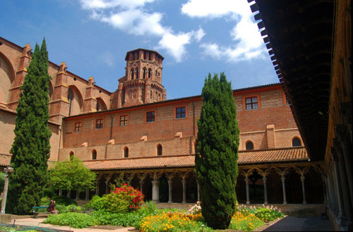 Former Augustinian monastery at Toulouse in France, a museum since 1801