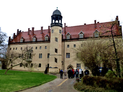 The former Augustinian friary at Wittenberg, which became Luther's house