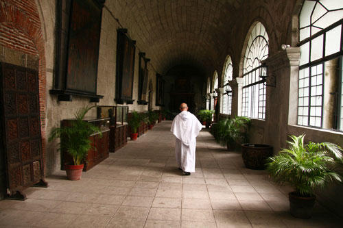 Augustinian monastery at Intramuros, Manila, founded in about 1572