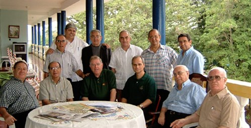 An Augustinian meeting in Santo Domingo