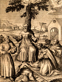 From the book Monasticon Augustinianum by Nicolas Crusenius OSA in 1623