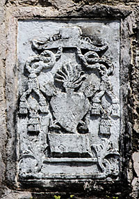 Augustinian crest in stone