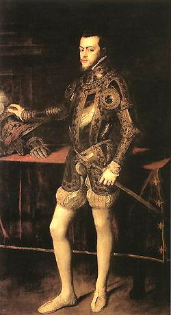 Philip II of Spain (1527 - 1598)