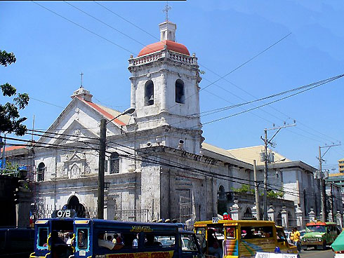 Minor Basilica of the Sto. Nino, before the 2013 earthquake