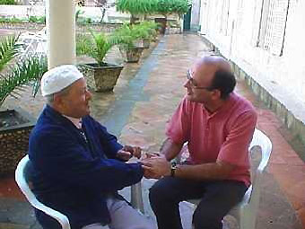 A local inhabitant and an Augustinian, Annaba