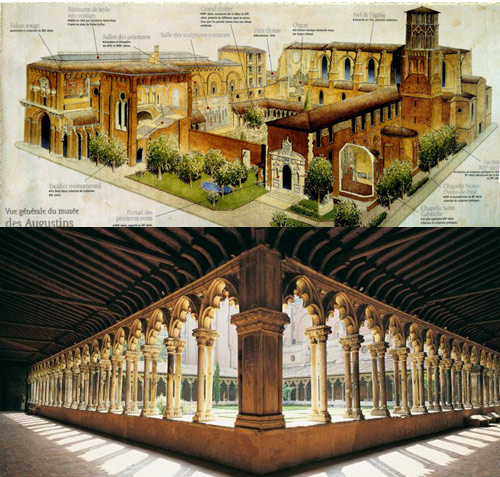 The Augustinian monastery at Toulouse until the French Revolution