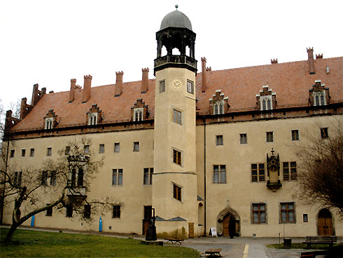 The Augustinian friary at Wittenberg.