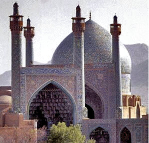 A mosque in Isfahan today