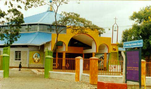 Sacred Heart parish church in Baba Dogo (in Nairobi), opened in 2003.