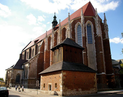 The Augustinian Church of St Catherine at Kazimierz , Kraków.