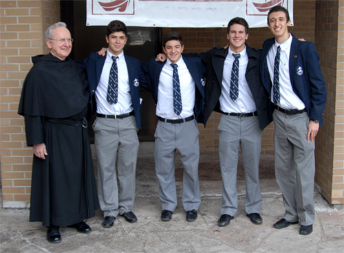 Villanova High School at Ontario in Canada, conducted by the Augustinians