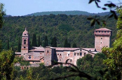 The monastery at Lecceto in Tuscany, still a centre of Augustinian spirituality