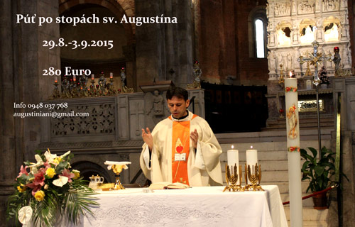 An Augustinian pilgrimage from Slovakia to Augustine's tomb at Pavia, Italy