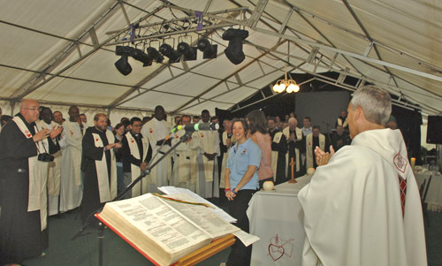 Eucharist at Augustinian International Encounter in England