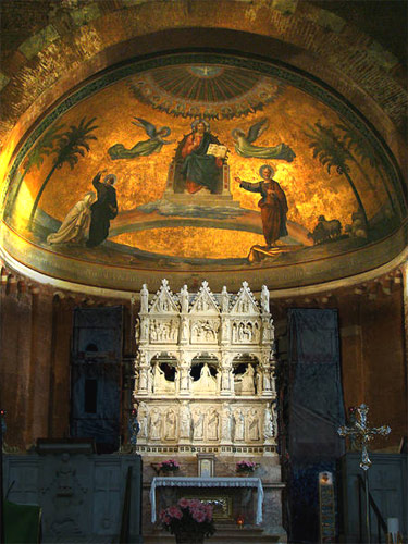 Church of St Peter in Ciel d'Oro: Augustine's tomb