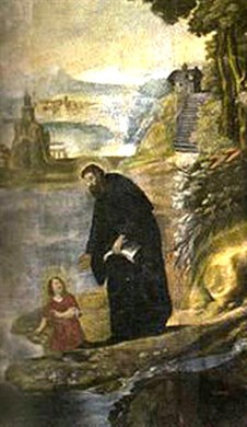 Augustine converses with child