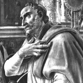 Augustine, by Sandro Botticelli