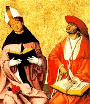Saints Augustine and Jerome