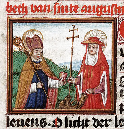 Augustine and Jerome, who in fact never met one another