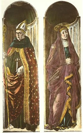 Saints Augustine and Monica