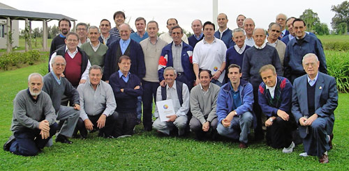 Augustinians at a meeting in Argentina