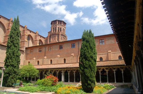 Former Augustinian monastery at Toulouse, now a State Museum.