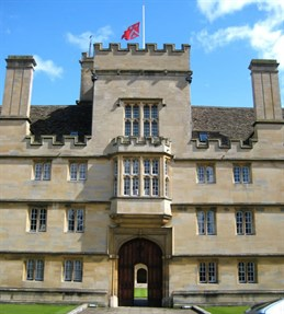 Wadham College entrance