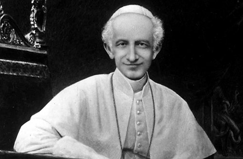Pope Leo XIII appreciated the Order from his days in the town of his birth.