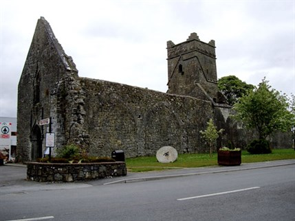 Former Augustinian church at Dunmore, County Galway