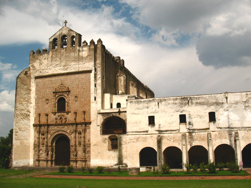 The church and monastery was begun by the Augustinians in 1539,