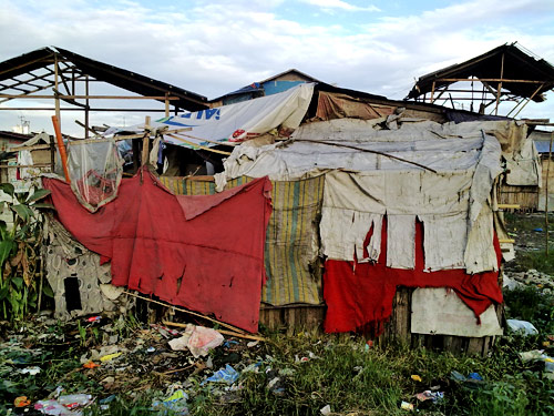 Housing by the marginalised, common on all continents