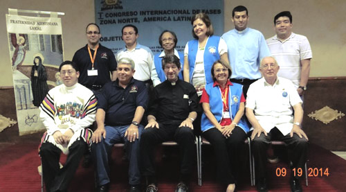 Panama 2014: Fraternidades Agustinas Segulares meet from  eleven nations