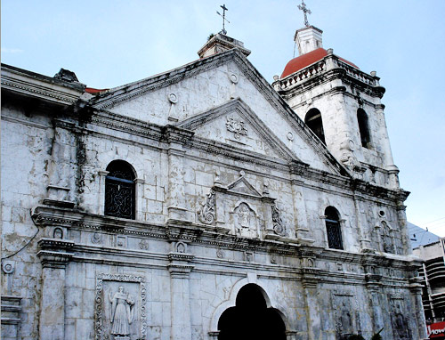 Basilica del Santo Nino in Cebu, Philippines; begun by Augustinians in 1565