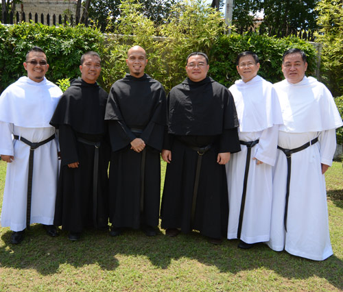 Formation team at the Asia-Pacific Augustinian Novitiate in the Philippines